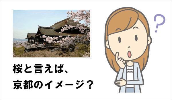 桜と言えば、京都のイメージ?
